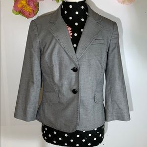 Ann Taylor Cropped Suiting Jacket